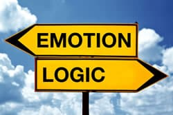 Emotion or logic sign
